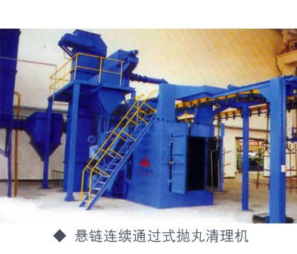 点击查看详细信息<br>标题:Hanging chain ring rail through shot blasting machine 阅读次数:2208