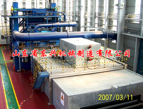 点击查看详细信息<br>标题:Steel plate pretreatment shot blasting machine 阅读次数:1457