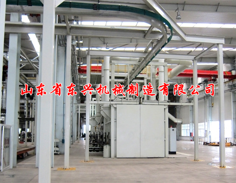 点击查看详细信息<br>标题:Hanging chain ring rail through shot blasting machine 阅读次数:1430