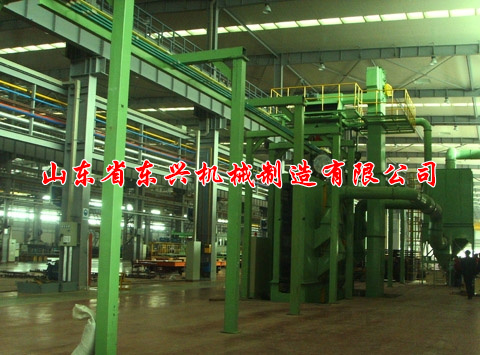 点击查看详细信息<br>标题:Hanging chain ring rail through shot blasting machine 阅读次数:1360