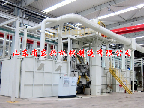 点击查看详细信息<br>标题:Hanging chain ring rail through shot blasting machine 阅读次数:1401