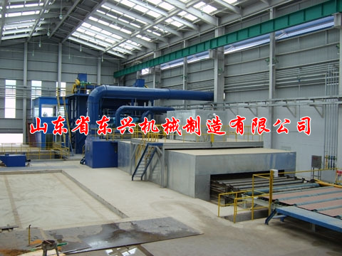 点击查看详细信息<br>标题:Steel plate pretreatment shot blasting machine 阅读次数:1411
