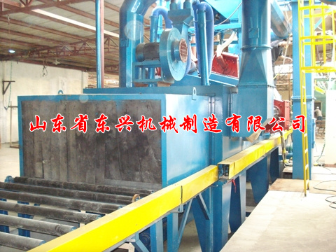 点击查看详细信息<br>标题:Steel structure profiles shot blasting machine 阅读次数:1609