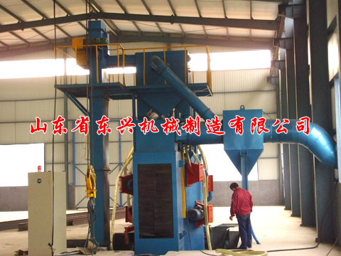 点击查看详细信息<br>标题:Steel structure profiles shot blasting machine 阅读次数:1483